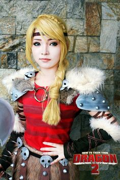 Astrid Hofferson, How to train Your Dragon 2