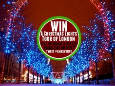 Enter our competition to a Christmas Lights Tour of London - End Sunday December 2015 Christmas Lights, Xmas, Christmas Competitions, London Blog, Lights Tour, Modern Metropolis, Old City, December, Fair Grounds