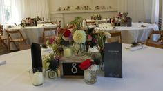 FLORICA - Tisch- und Raumdekorationen für eine Hochzeit