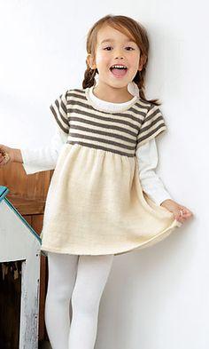Ravelry: Momo Little Dress pattern by Pierrot (Gosyo Co., Ltd)