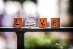 It may only be worth six points in Scrabble, but we think this ring shot is definitely a triple-score! #wedding #ring