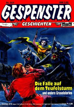 Cover for Gespenster Geschichten (Bastei Verlag, 1974 series) #307