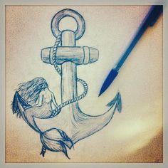 The Mermaid on the anchor | via Facebook