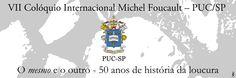 """Graphic material for event """"VII International Colloquium MICHEL Foucault """""""