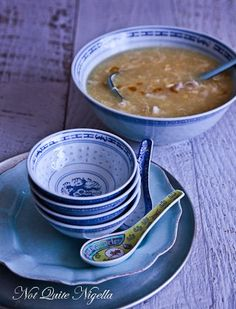 Chinese Chicken Corn Soup from Not Quite Nigella. Great recipe.