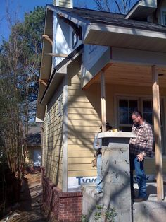 How to build craftsman porch columns. Gonna need this.
