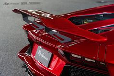 https://flic.kr/p/JYet97 | Bloody Red Liberty Walk Lamborghini Aventador LP700 with Fi Exhaust