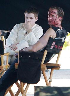 True Blood actors playing Eric and his maker Godric
