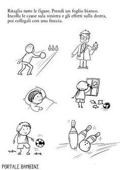 Preschool Worksheets, Preschool Learning, Cause And Effect, Animal Crossing, Kindergarten, Teacher, Comics, Perception, Homeschooling