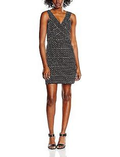 Small, Black, Akinolaude Women's Vestido Corto Lola Dressed NEW