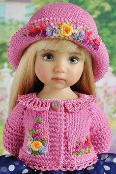 Crochet Doll Dress, Knit Crochet, Crochet Hats, Reborn Toddler Dolls, Little Darlings, Vintage Dolls, Beautiful Dolls, Girl Dolls, American Girl