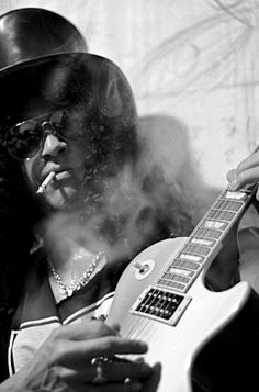 My 80s guys are popping up everywhere today. Slash is my inspiration for everything I do. Every breath I take I take for Slash and it will always be that way <3SaulHudson<3