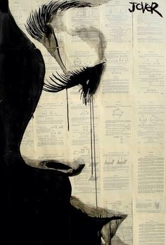 Loui Jover, Reflection, 2013, Pen and Ink