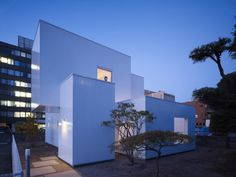 House I is a minimalist home located in Akita, Japan, designed by Yoshichikatakagi + Associates.