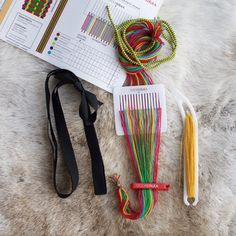Band weaving kit Small Everything you need to start patterned band weaving the easy way.