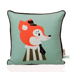 Ferm Living Mr. Frank Fox Tyyny 30x30cm