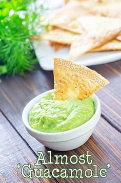 Edamame Guacamole - If you love the flavor of Guacomole, but not necessarily the price of avocados in your area, here is a delicious recipe that your family is sure to love.  This (faux) guacamole is made with edamame!