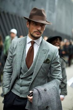 I think we've pinned him on Gents Style before, but what a great look.