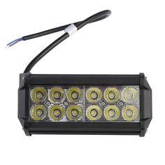7 zoll 36 Watt Wasserdichte LED Offroad Arbeitslicht Flut Weg Von Treibendem Licht für Auto Lkw Boot 6000 Karat heißer Verkauf