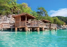 Unplug and unwind in a private Labadee cabana.