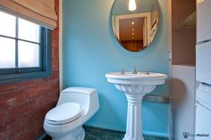 Half Bath off Office - Pacific Heights, San Francisco fortress