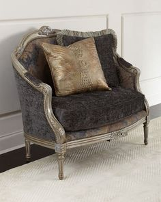 """Handcrafted settee. Rubberwood frame. Polyester upholstery. 47""""W x 31""""D x 39""""T. Seat, 39""""W x 21""""D x 19""""T; arms, 27""""T. Comes with polyester-backed leather pillow and fringed polyester pillow. Made in t"""