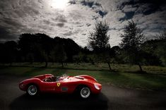The 1958 Ferrari 412S was one of few Ferraris built for American SCCA racing and one of the first to be fitted with disc brakes. The 412S debuted at Watkins Glen, but its real success came at the Riverside Times Grand Prix, where it took first overall and set a track record of 181 mph.