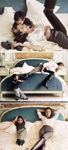 Angelina Jolie and Maddox...absolutely precious!