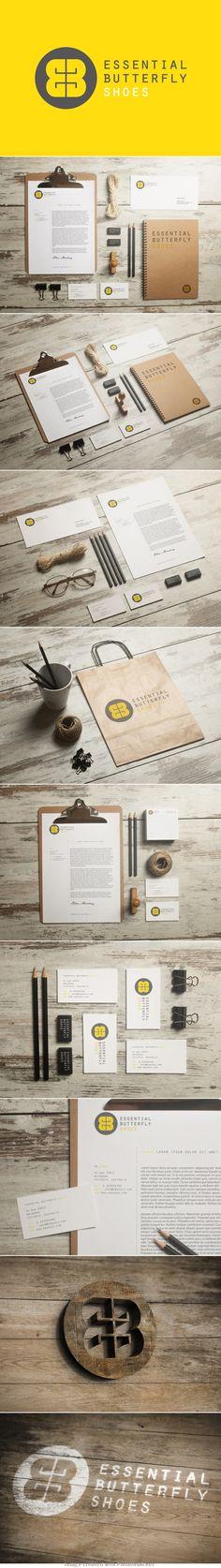 Photography Studio Logo Visual Identity Ideas For 2019 Brand Identity Design, Graphic Design Branding, Corporate Design, Business Design, Typography Design, Logo Design, Corporate Identity, Identity Branding, Design Art