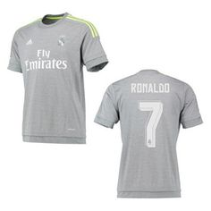 5bbe3c62e adidas Real Madrid Ronaldo  7 Soccer Jersey (Away 2015 16) Ronaldo Jersey