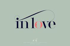 Lingerie typeface by Moshik Nadav