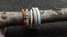 set 4 items 1 with nat cork. € 17,50 ex shipping landhofschober@hotmail.com Cork, Bracelets, Jewelry, Armband, Bangles, Jewlery, Jewels, Bracelet, Jewerly