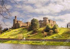 Castillo De Inverness, Inverness, Escocia Fotos, Retratos ...