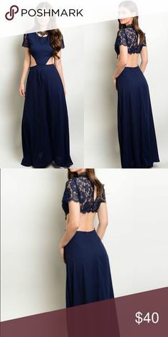 🔻Sale🔻Final Markdown A silky, midnight blue, flowy dress  All Boutique items are brand new and from                www.uptownboutique.us    🎀     Same day Shipping on all orders   Reasonable Offers   Bundle to save 15%  No Trades                   Shop with confidence! Dresses Maxi