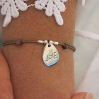 """Bracelets : Bracelet Argent """"JOIE"""" Yuna"""