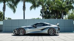 2014 Pebble Beach car show: Toyota shows off tweaked FT-1 concept