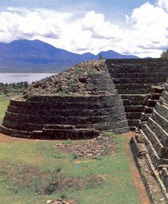 Tzintzuntzan, Mexico. Las Yacatas.  Great place to workout. And just explore the scenery