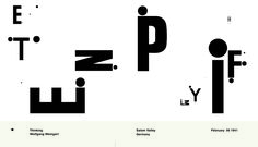 Images For > Wolfgang Weingart My Way To Typography