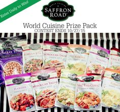 I participated in the Mom Blog Tour at the Summer Fancy Food Show on behalf of Wendy's Bloggers and received Saffron Road products to facilitate