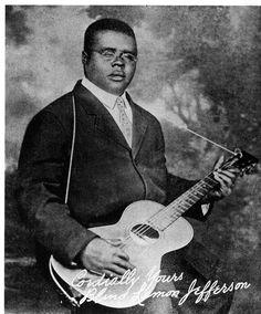 Blind Lemon Jefferson, 1926