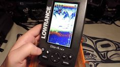 Lowrance Elite 4 HDI - Function Basics Outdoor Gear Review, Fish Finder, Helpful Hints, Electronics, Yellow, Black, Products, Useful Tips, Black People