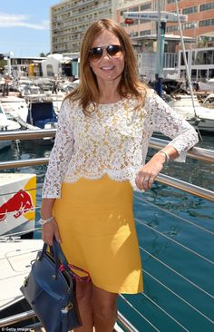 Geri Halliwell pauses honeymoon to support Horner at Monaco Grand Prix #dailymail