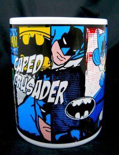 Batman TM & DC Comics Mug New Caped Crusader Ceramic