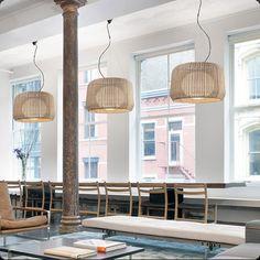Name: FORA-90  Design: Gonzalo Milà / Alex Fernández Camps  2010  Typology: Pendant lamp  Environment: Outdoor