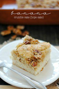 Banana Crumble Cake (Hope Cake)