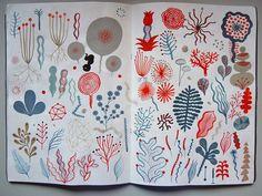 Hunter | Gatherer: Illustrators' Sketchbooks, Pt. II: Design Observer - Laurent Moreau