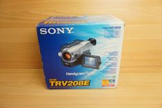Sony PAL CCD-TRV208E PAL Video8 HI8 8mm Camcorder VCR Player Video Transfer    eBay Vcr Player, Camera Photography, Camcorder, Sony, Video Camera, Movie Camera