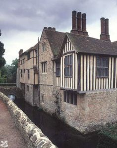 Ightam Mote, 14th Century moated Manor, Kent, UK