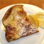 From the International Pancakes Breakfast Recipe Collection. A classic German-style pancake that's best served with powdered sugar and a squeeze of fresh lemon juice.