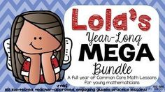 Students and teachers alike LOVE Lola. 21 units of daily guided practice lessons will help your young students understand and enjoy Common Core math. Not kidding! Students love the engaging character and familiar scenarios, while teachers love that all the work is done for them!